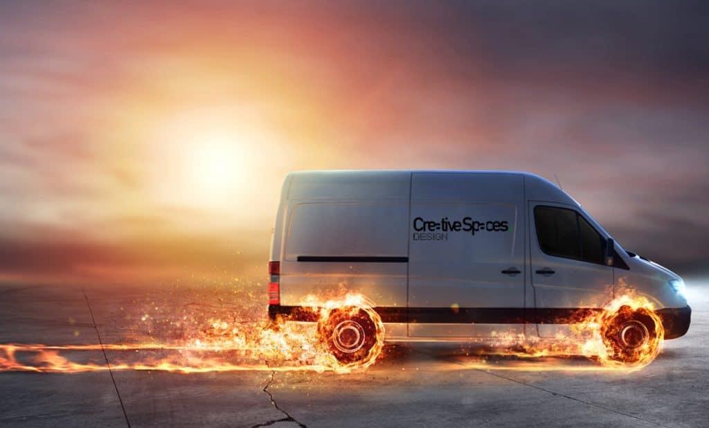 Creative Spaces Design Van