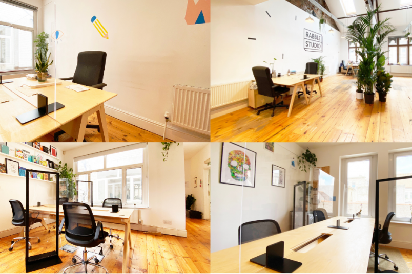 Supplying our social distancing partitions and hand sanitising units for Cardiff co-working spaces