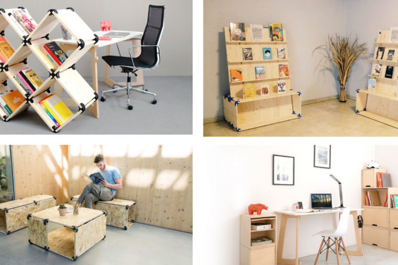 Eco-friendly furniture by PlayWood